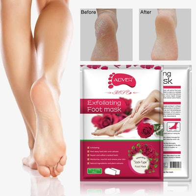 NIFEISHI Exfoliating Foot Masks (3-Pack)