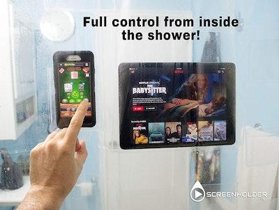 BunkerWall 17 Pocket Shower Curtain Liner