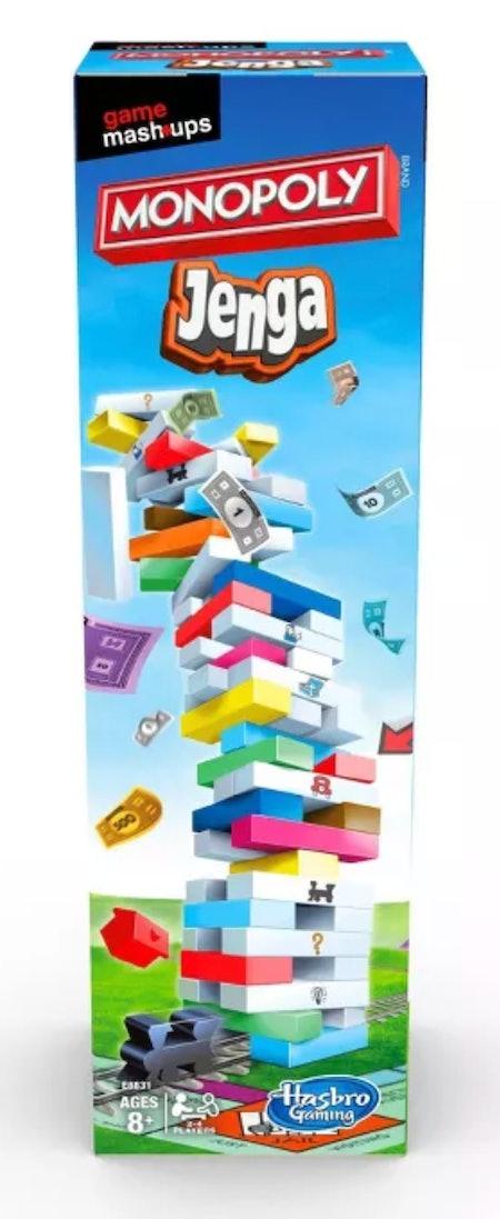 Game Mashups Monopoly Jenga Game - Target Exclusive