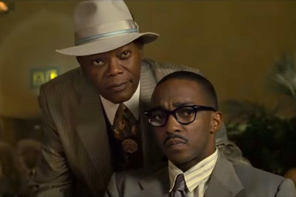 Samuel L. Jackson and Anthony Mackie star in the new Apple TV+ movie 'The Banker.'