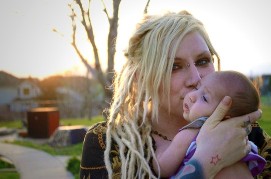Kristal Anne Reisenger and daughter Akasha