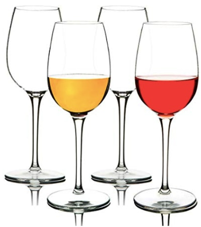 Michley Unbreakable Wine Glasses (Set Of 2)