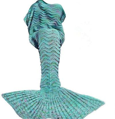 DDMY Mermaid Tail Blanket