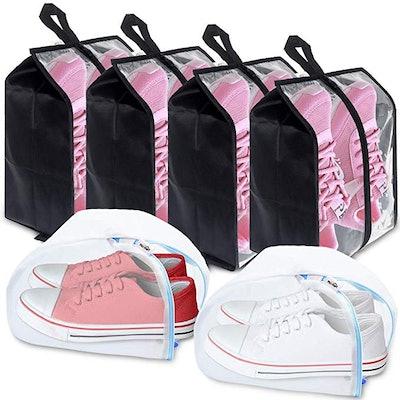 Plusmart Travel Shoe Bags (6-Piece Set)