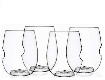 Govino Go Anywhere Shatterproof Wine 16-ounce Glasses,Set of 4