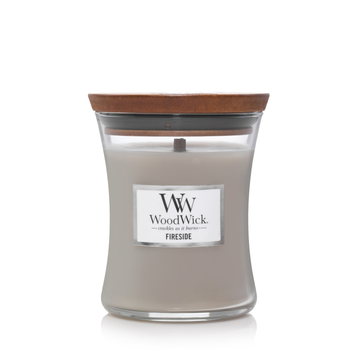 WoodWick Fireside Medium Hourglass Candle