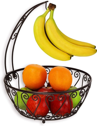 Simple Houseware Fruit Basket Banana Tree