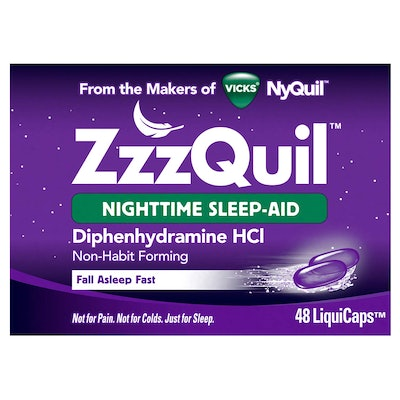 ZzzQuil Nighttime Sleep Aid (48 capsules)