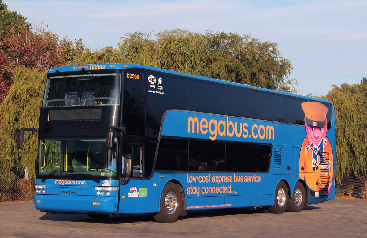 Megabus Golden Ticket 2019 Giveaway