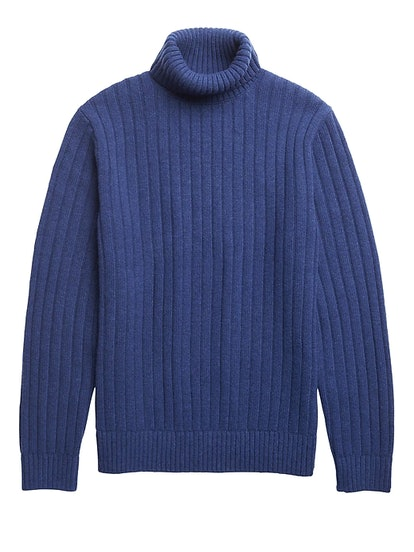 Heritage Ribbed Turtleneck Sweater