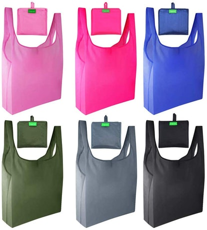 Reusable Grocery Bags (6-Pack)
