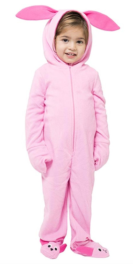 A Christmas Story Toddlers' One Piece Deranged Bunny Pajama Costume Union Suit Outfit