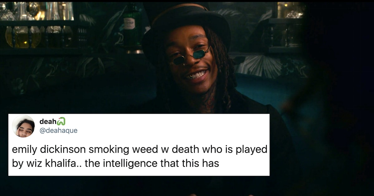 """These Tweets About Wiz Khalifa As """"Death"""" In 'Dickinson' Are A Whole Mood"""
