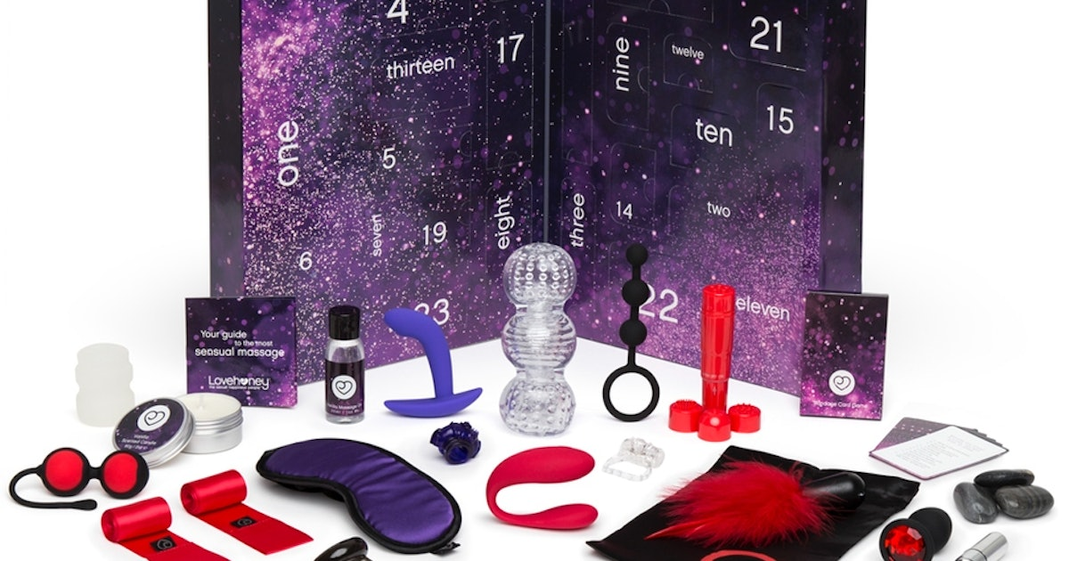 The Lovehoney Sex Toy Advent Calendar Makes For A Hot Holiday