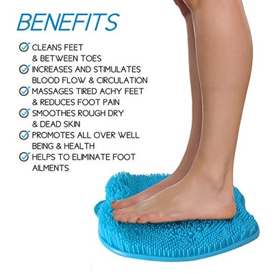 Shower Foot Massager Scrubber & Cleaner