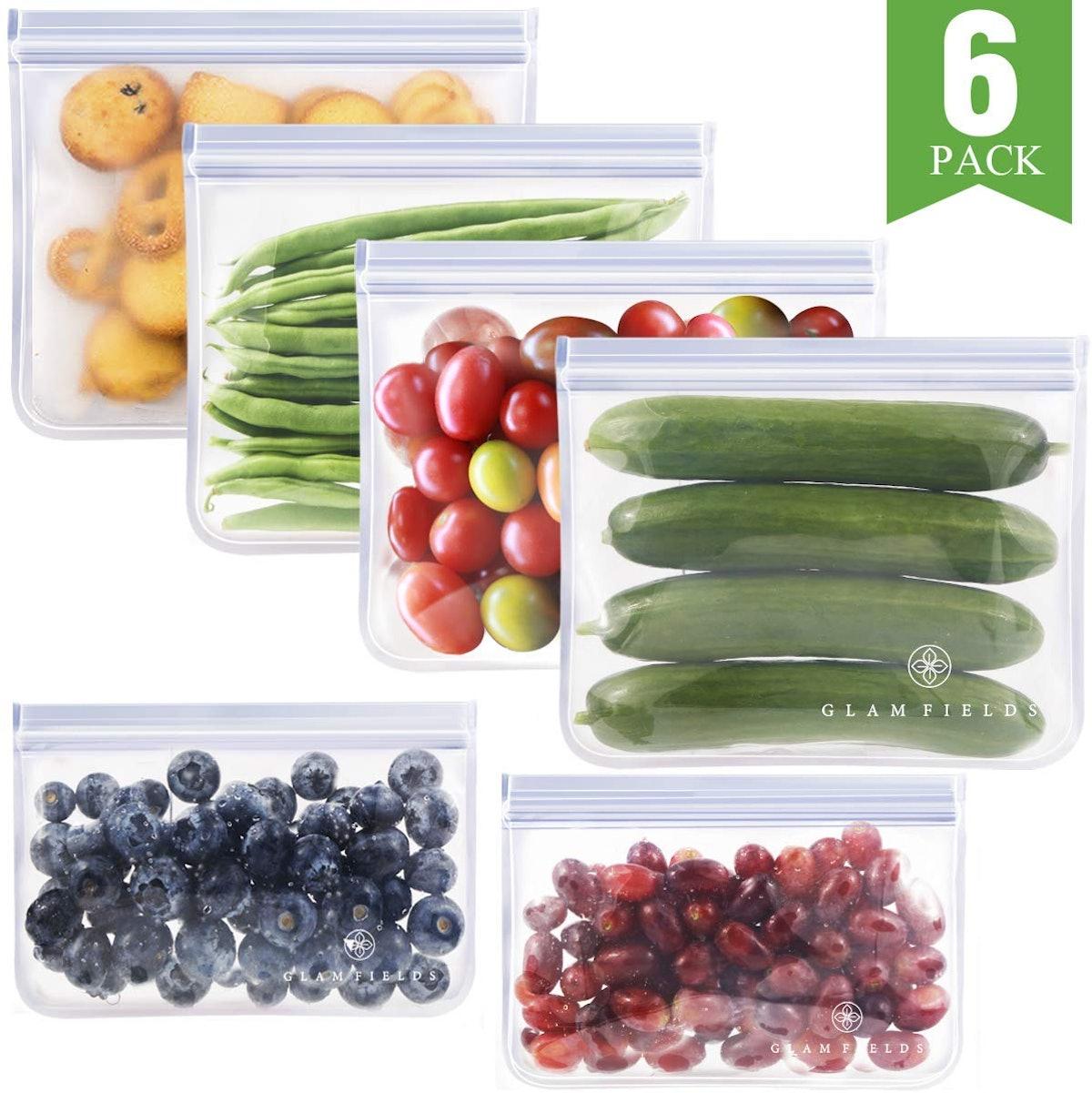 Reusable Sandwich Bags (6-Pack)