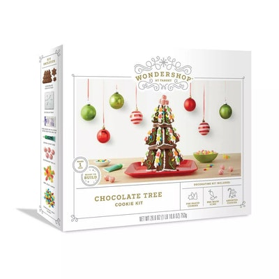 Holiday Gingerbread Chocolate Cookie Tree Kit