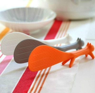AKOAK Squirrel Shape Standing Spoon (Set of 3)
