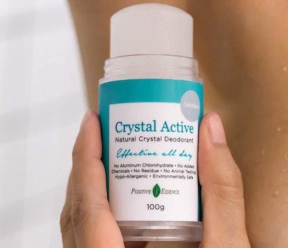 Positive Essence Crystal Deodorant Stone