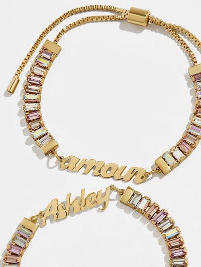 Custom Gem Bracelet