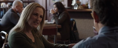 Deirdre Wells (Marlee Matlin) speaks with her husband in 'Limetown.'