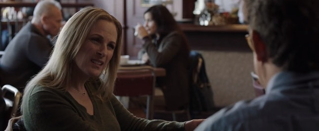 Deirdre Wells (Marlee Matlin) speaks with her husband in 'Limetown.'