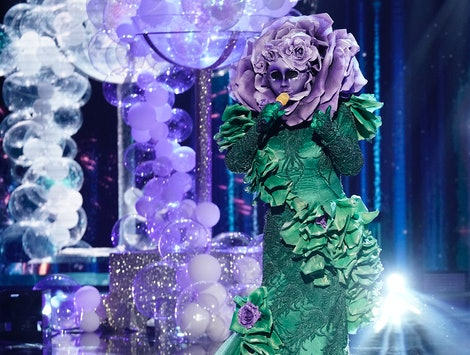 The Flower, who may be Patti LaBelle, takes the stage on The Masked Singer