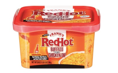 Frank's Redhot Buffalo-Style Chicken Dip.