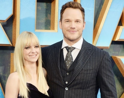 Anna Faris sparked engagement rumors after stepping out wearing a diamond ring.