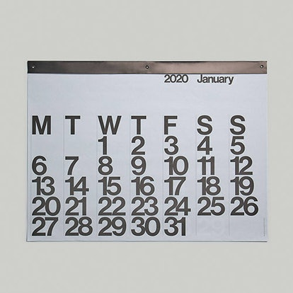 Stendig Calendar 2020