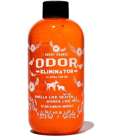 Angry Orange Pet Odor Eliminator Concentrate, 8 Oz. (Makes A Gallon)