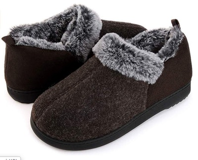 Ultraideas Women's Cozy Slippers With Faux-Fur Lining