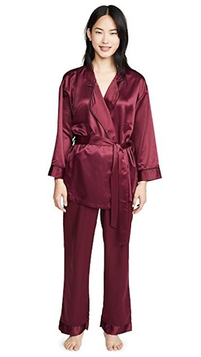 Wren Kimono and Trousers PJ Set