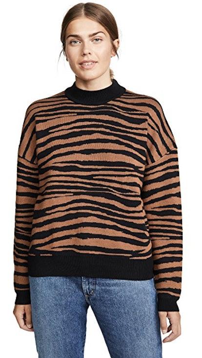 Vincent Intarsia Sweater