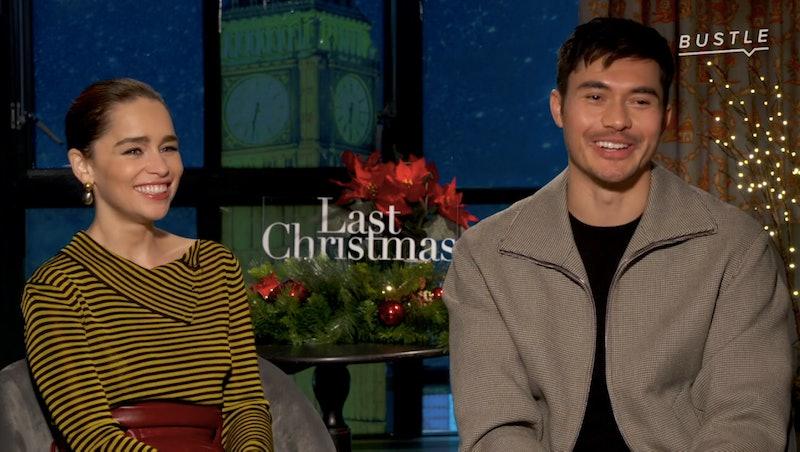 'Last Christmas' stars Emilia Clarke and Henry Golding
