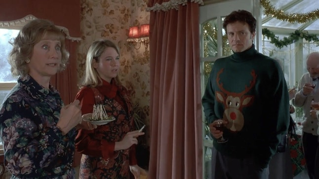 Mark Darcy's ugly Christmas sweater in 'Bridget Jones' Diary' is seen as a defining moment in ugly Christmas sweater history.