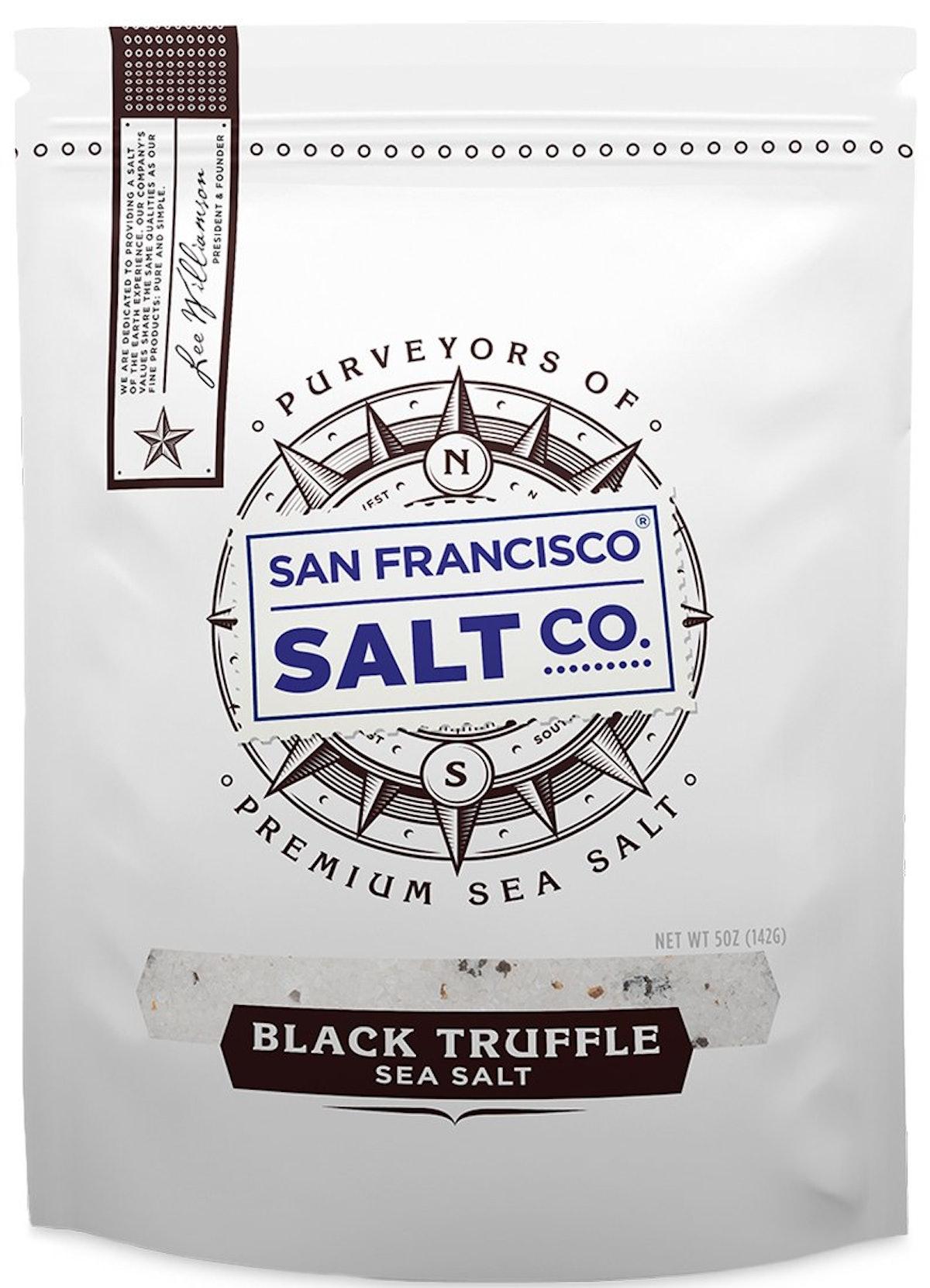 San Francisco Salt Company Italian Black Truffle Salt