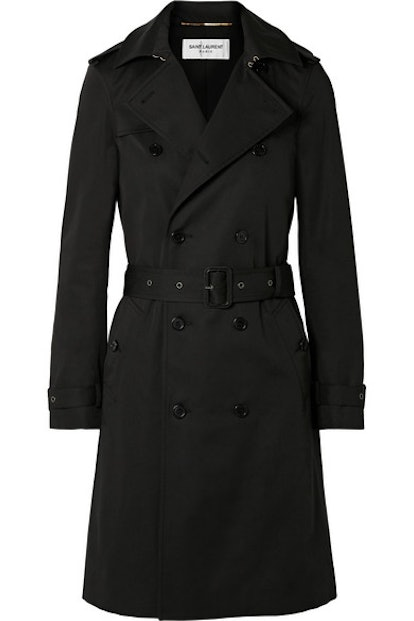 Woven Trench Coat