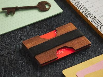 Sleek Wooden Wallet