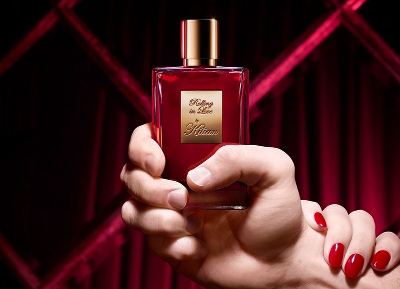 Kilian's new Rolling in Love fragrance combines musky, second-skin like notes for a sensual perfume.