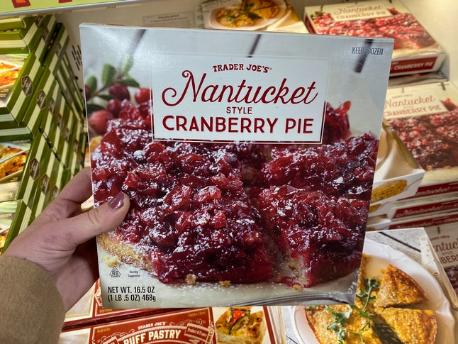 Nantucket Style Cranberry Pie has arrived at Trader Joe's.