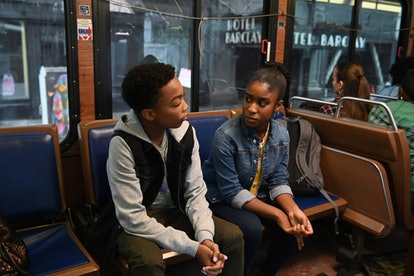 Malik and Deja ride the bus on This Is Us