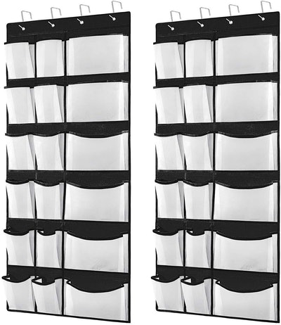 Kootek Over The Door Shoe Organizer (Set of 2)