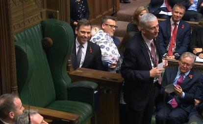 Sir Lindsay Hoyle, the new Speaker of the House