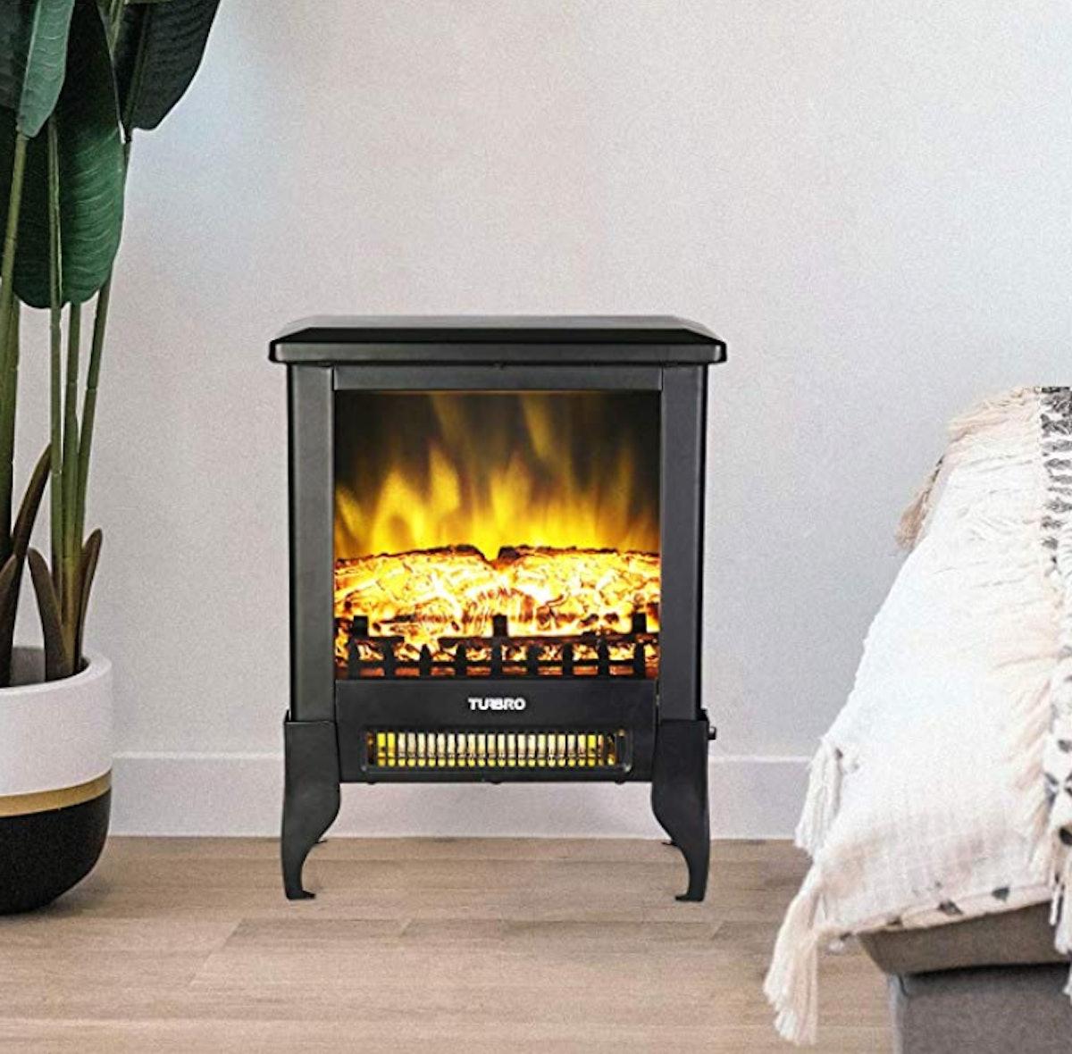 TURBRO Suburbs TS17 Compact Electric Fireplace Stove