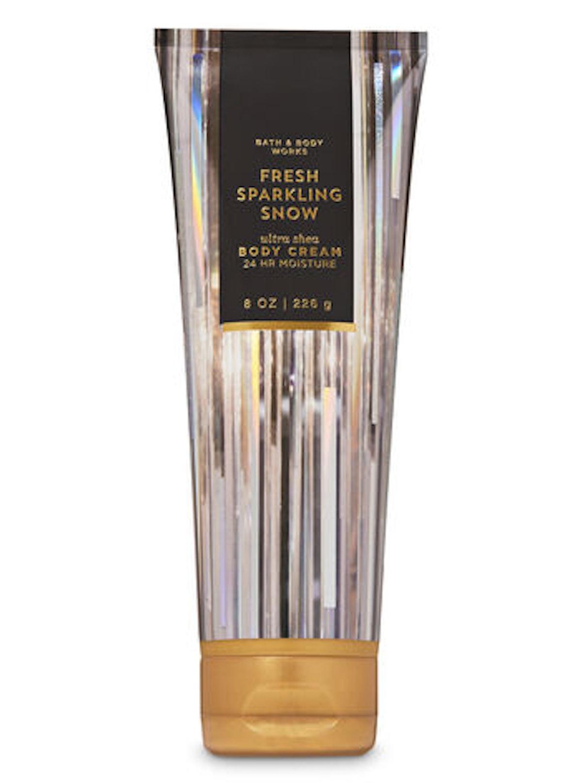 Fresh Sparkling Snow Ultra Shea Body Cream