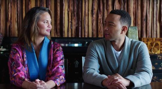 Chrissy Teigen & John Legend discuss how they didn't have sex on their wedding night