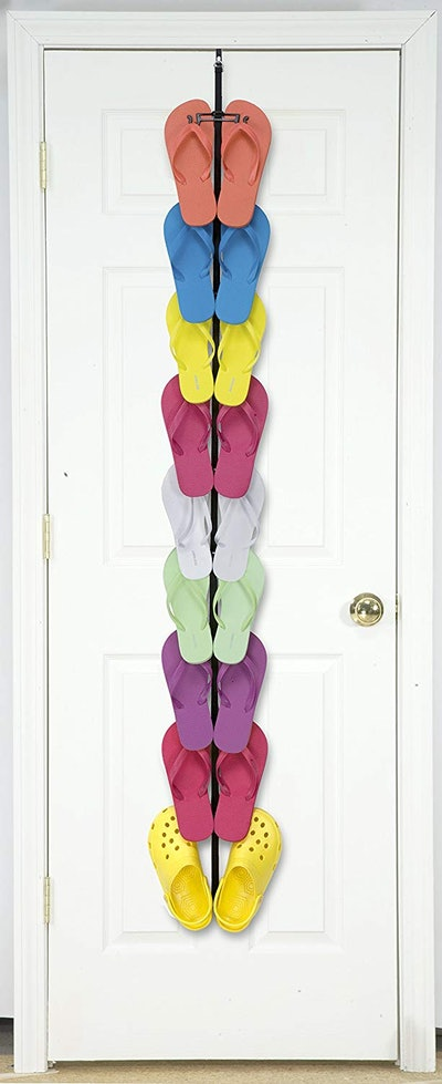 Perfect Curve Flip Flop Rack Organizer