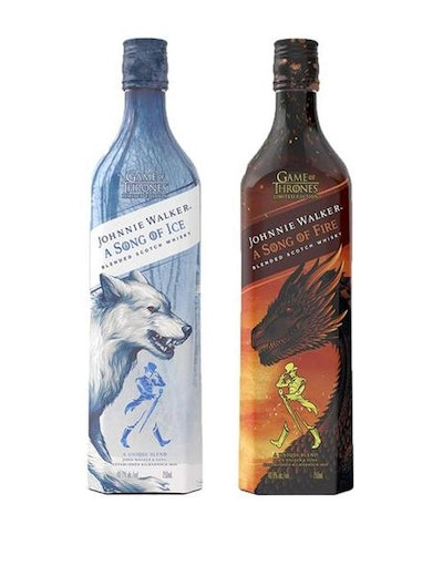 Johnnie Walker A Song Of Ice and A Song Of Fire Whisky