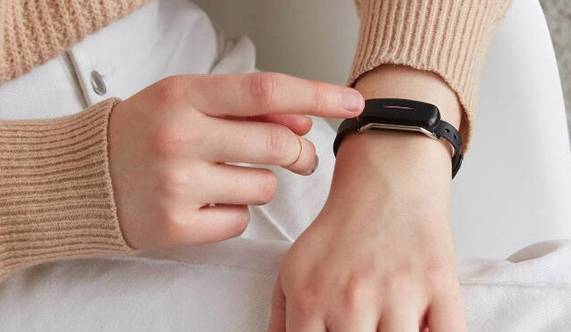Uncommon Goods is selling a long distance bracelet.